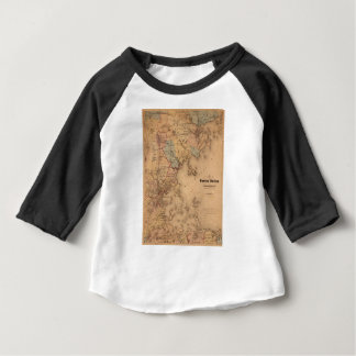 Map Of Boston 1861 Baby T-Shirt