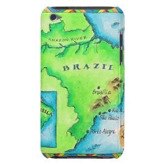 Map of Brazil iPod Touch Covers
