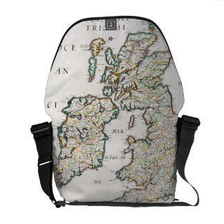 Map of Britain and Ireland, published Paris 1640 ( Messenger Bags