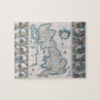Map of British Isles 2 Jigsaw Puzzle