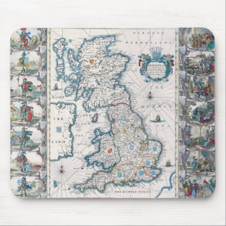 Map of British Isles 2 Mouse Pad