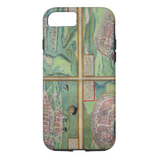 Map of Calais, Malta, Rhodes, and Famagusta, from iPhone 7 Case