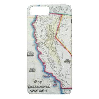 Map of California iPhone 7 Plus Case