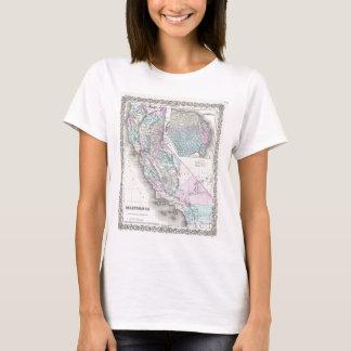 Map of California, Joseph Hutchins Colton T-Shirt