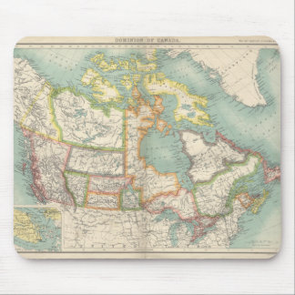 Map of Canada (c. 1900) Mousepad