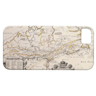 Map of Canada iPhone 5 Covers