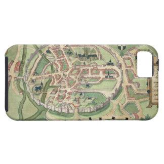 Map of Canterbury, from 'Civitates Orbis Terrarum' iPhone 5 Cover