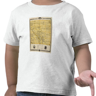 Map of Cedar County, State of Iowa Tees