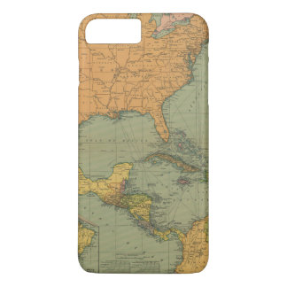 Map of Central America & Surroundings (1909) iPhone 7 Plus Case