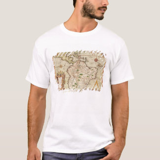 Map of Central and South America T-Shirt