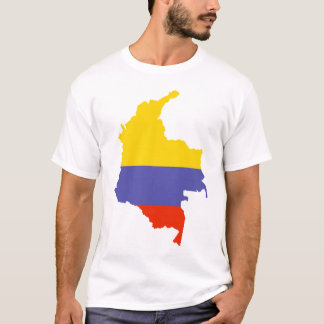Map of Colombia T-Shirt