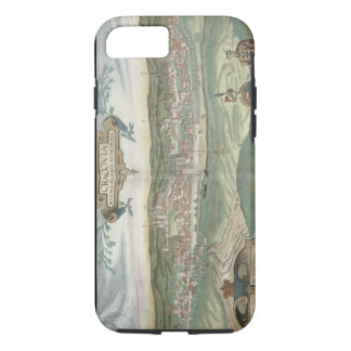 Map of Cracow, from 'Civitates Orbis Terrarum' by iPhone 7 Case