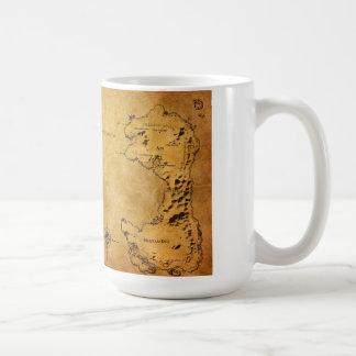 Map of Destin Coffee Mug
