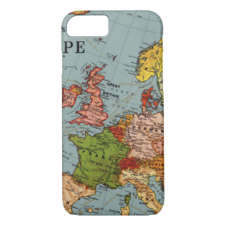 Map of Early Europe iPhone 8/7 Case