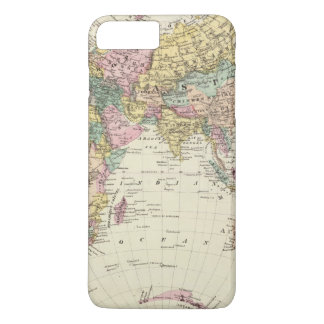 Map of Eastern Hemisphere iPhone 7 Plus Case