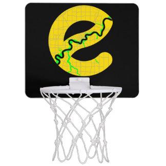 Map of Edmonton Basketball Net Mini Basketball Hoop