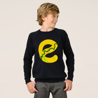 Map of Edmonton Raglan Sweatshirt