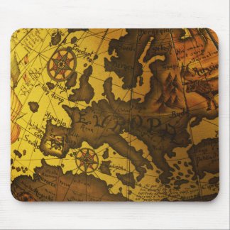 Map of Europe Mouse Pad