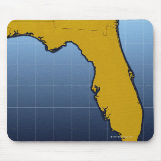 Map of Florida Mouse Pad