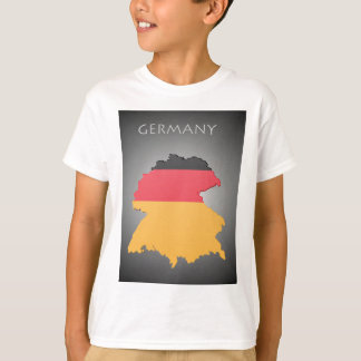 Map Of Germany Boys T-Shirt