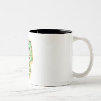 Map of Germany Coffee Mugs