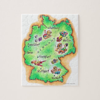Map of Germany Puzzles
