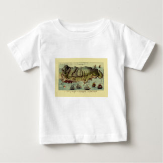 Map Of Gibraltar 1765 Baby T-Shirt