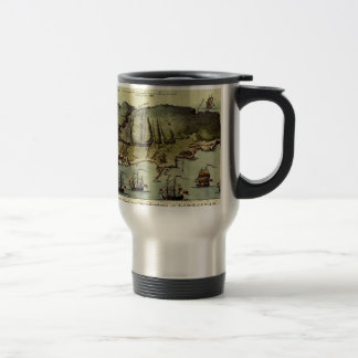 Map Of Gibraltar 1765 Travel Mug