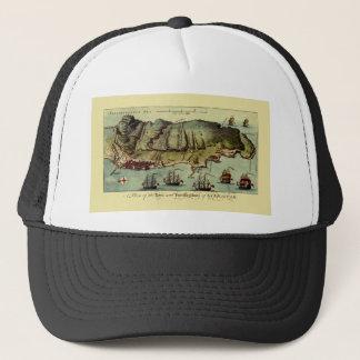 Map Of Gibraltar 1765 Trucker Hat