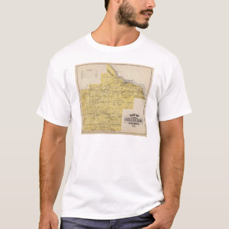 Map of Goodhue County, Minnesota T-Shirt