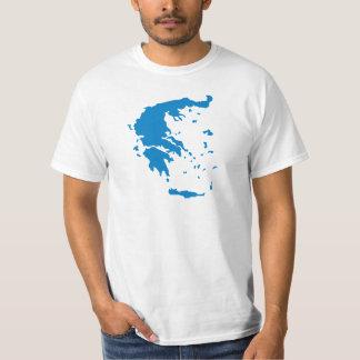 Map of Greece T-Shirt