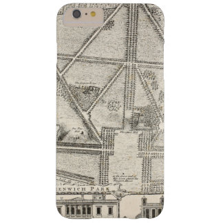 Map of Greenwich Park Barely There iPhone 6 Plus Case