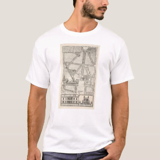 Map of Greenwich Park T-Shirt