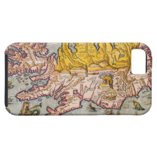 Map of Iceland iPhone 5 Cover