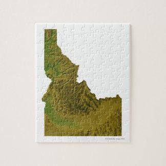 Map of Idaho 2 Jigsaw Puzzle