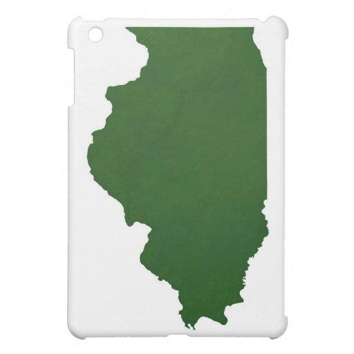 Map of Illinois iPad Mini Covers