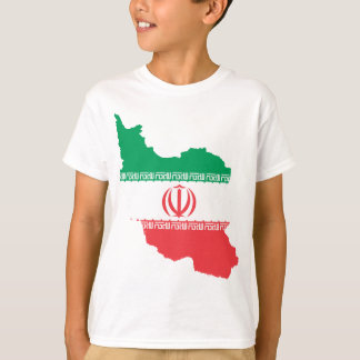 Map Of Iran T-Shirt