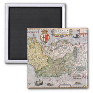 Map of Ireland Magnet