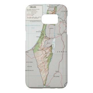 Map of Israel (1967)