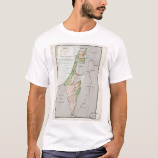 Map of Israel (1967) T-Shirt