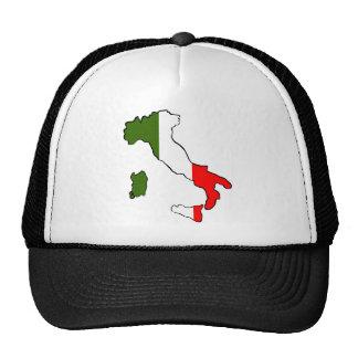 Map of Italy Cap