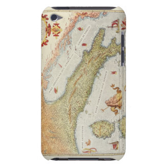 Map of Italy in 1500 Barely There iPod Case