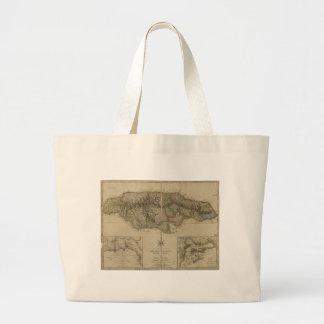 Map of Jamaica (1775) Jumbo Tote Bag