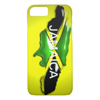 Map of Jamaica Yellow Case