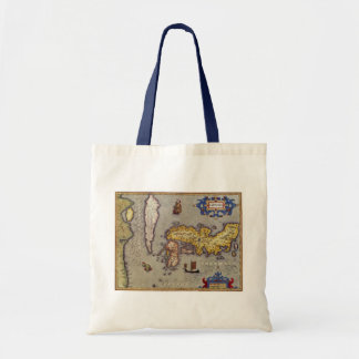 Map of Japan by Mercator and Hondius, 1606 Tote Bag