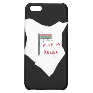 Map of Kenya iPhone 5C Cases