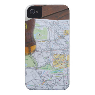 Map of London City Center Case-Mate iPhone 4 Cases