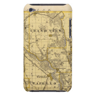 Map of Louisa County, State of Iowa iPod Case-Mate Case
