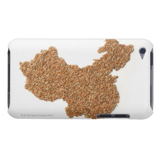 Map of Mainland China made of Glutinous Rice Case-Mate iPod Touch Case