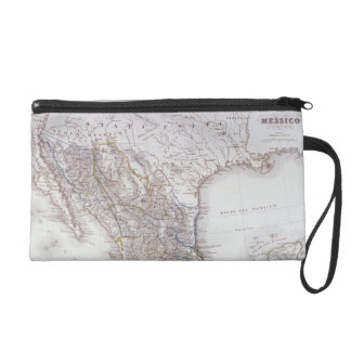 Map of Mexico 2 Wristlet Clutches